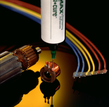 Dymax Multi-Cure adhesives for electronics assembly, unitising, strain relief