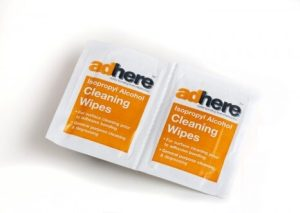 ADH 1610 cleaning wipes with isopropyl alcohol (IPA)
