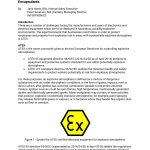 wp16-1 ATEX certification for electronics potting compounds and encapsulants