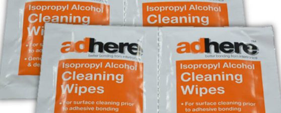 ADH1610 IPA Isopropyl Alcohol Wipes, Cleaning & Degreasing