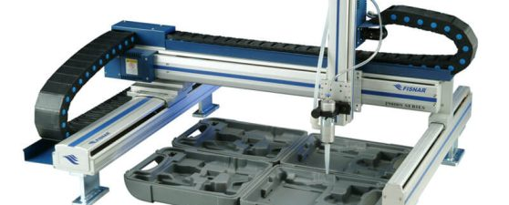 Fisnar F9000 Series Cantilever and Gantry Dispensing Robots
