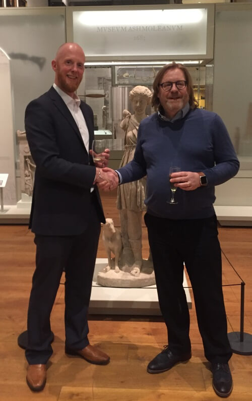Dymax 25th Anniversay at The Ashmolean Museum