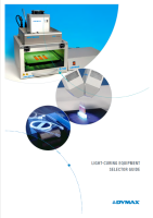 Dymax Light-Curing Equipment Selector Guide Cover